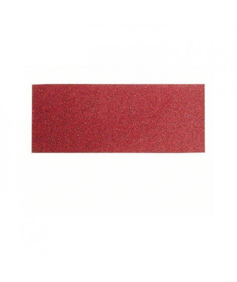 BOSCH Papier abrasif pour ponceuse vibrante avec bande auto-agrippante - 93x230mm - Grain 240