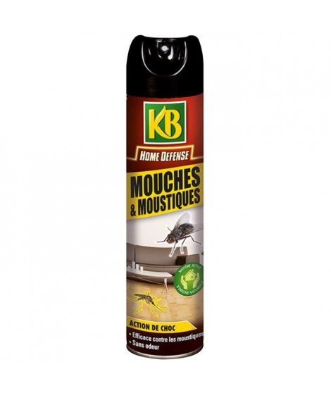 KB HOME DEFENSE  mouches moustiques - 400 ml