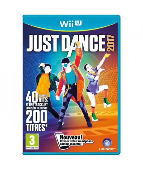 Just Dance 2017 Jeu Wii U