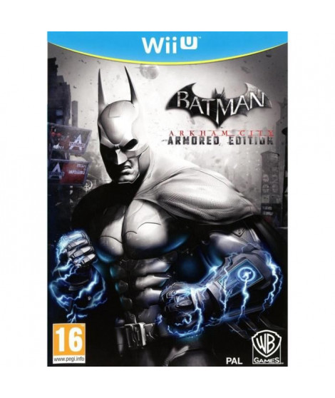 Batman Arkham City Armored Edition Jeu Wii U
