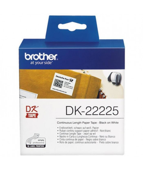 BROTHER Ruban P-TOUCH DK - 38mm