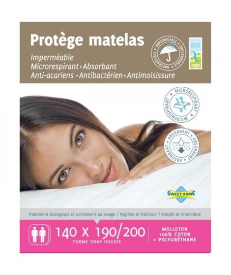 SWEET HOME Protege matelas SARA AEGIS 140x190/200