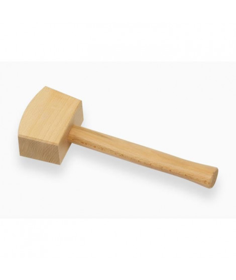 MEISTER Masse en bois carrée 105mm