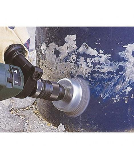 WOLFCRAFT 1 Brosse métalique soucoupe - Ø 75 mm