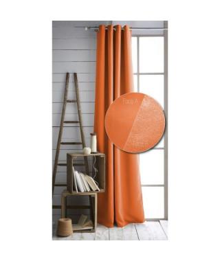 TODAY Paire de rideaux isolant 140x240 cm mandarine