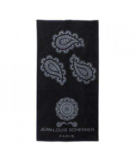 Drap de Plage - 90 x 180 cm - Noir