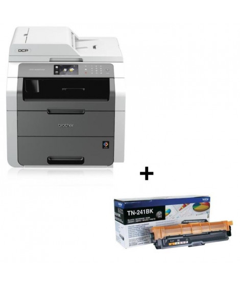 Pack Brother Imprimante Multifonction LED DCP-9020CDW + Toner TN-241BK Laser Noir