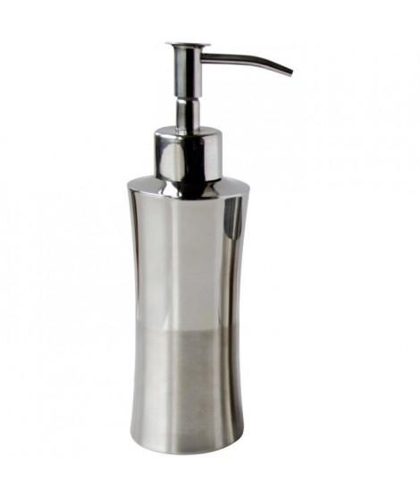 GELCO Distributeur a savon Silver en métal chromé