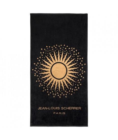 Drap de Plage - 90 x 180 cm - Noir et or