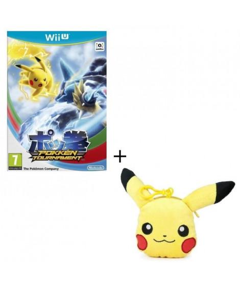 Pokkén Tournament Jeu Wii U + Porte clés Pikachu