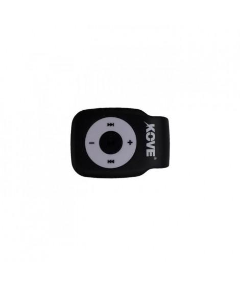 KOVE K117 Lecteur MP3 avec emplacement pour Micro SD - Noir
