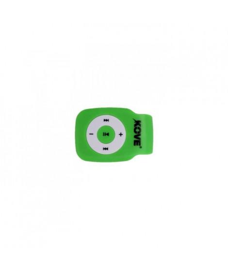 KOVE K117 Lecteur MP3 avec emplacement pour Micro SD - Vert