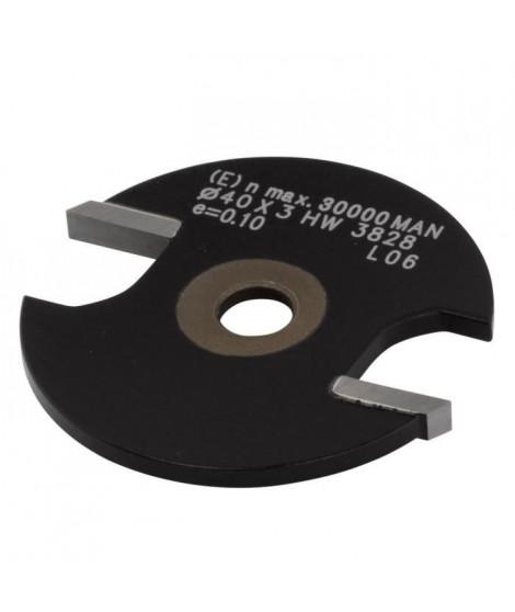 WOLFCRAFT - 1 Fraise a rainurer circulaire en carbure de tungestene - ø40x2,5mm