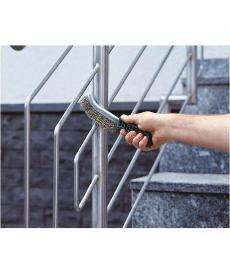 WOLFCRAFT Brosse a main ergonomique en nylon
