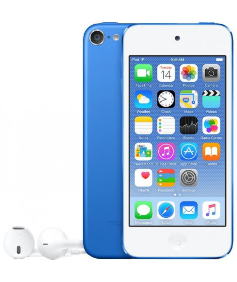 APPLE iPod Touch 128GB - Bleu