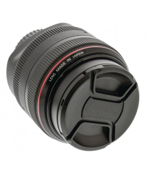 CAMLINK CL-LC62 Capuchon d'objectif Snap-On 62 mm