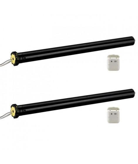 DIAGRAL BY ADYX Pack de 2 motorisations pour volets roulants a commande filaire Ø 45mm - 8Nm - 230V