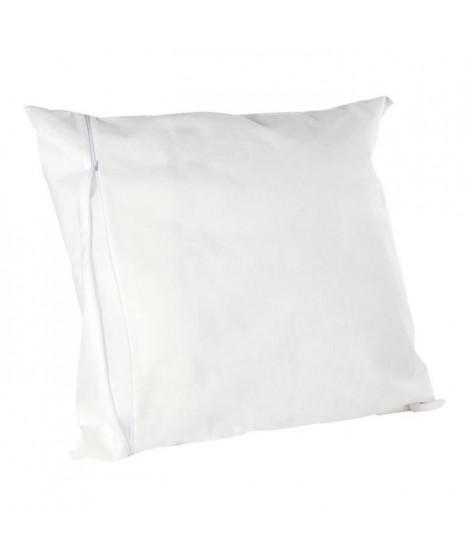 SWEETNIGHT Protege-oreiller housse intégrale Allergostop - 65 x 65 cm