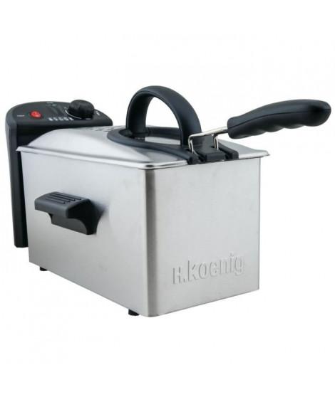 KoeNNIG DFX300 Friteuse Inox - 2100 W