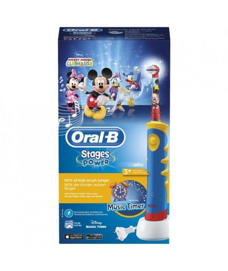 Brosse a Dents Électrique pour Enfant - ORAL-B Mickey de Disney