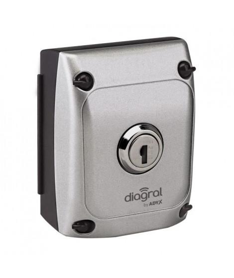 DIAGRAL BY ADYX Sélecteur a clé sécurité commande pour motorisation