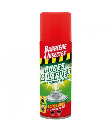 BARRIERE A INSECTES Puces etLarves aérosol auto diffusant au pyrethre végétal - 200ml
