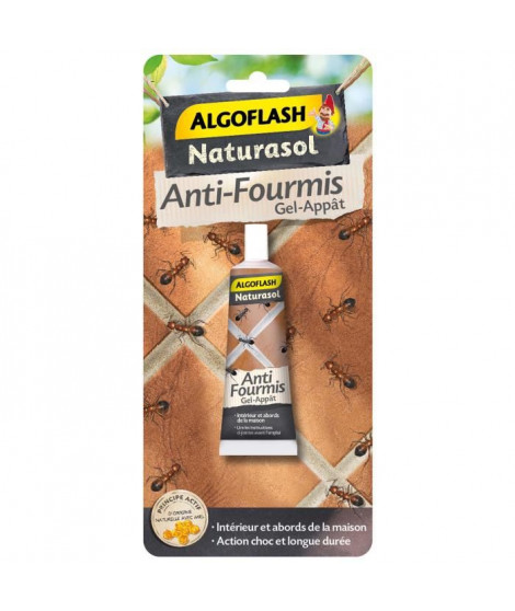 ALGOFLASH NATURASOL Tube Anti-Fourmis - Gel -Appât - 30g