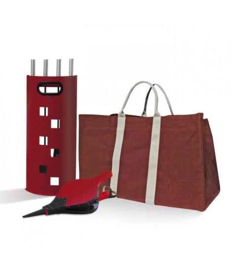 Pack serviteur + panier + Soufflet rouge