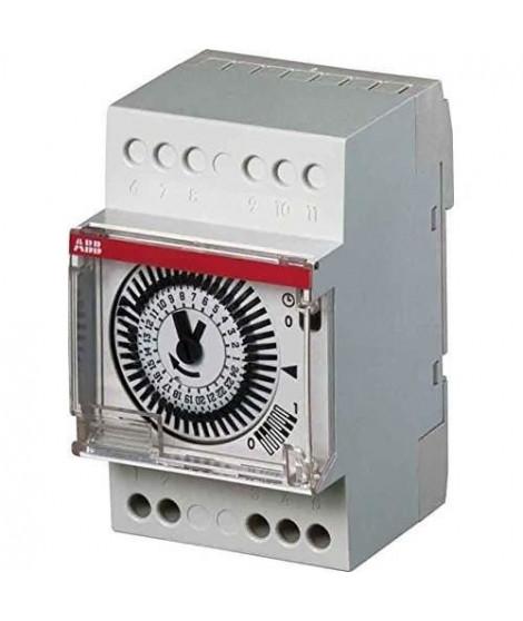 ABB Horloge analogique 24 h 1 canal 3 modules