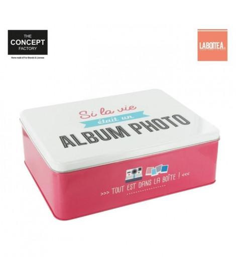 Boîte en Métal Album Photo
