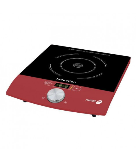 FAGOR 1831 Plaque a induction ? 2000W ? Rouge