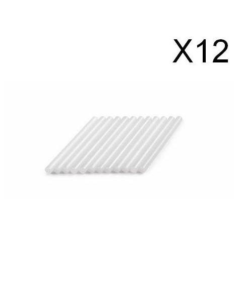 DREMEL 12 bâtons de colle universelle 7mm 165°C