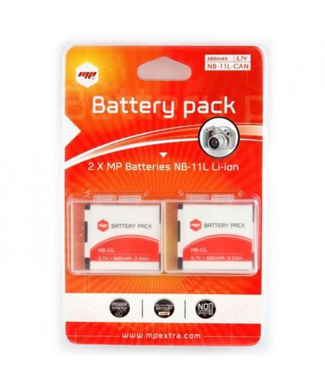 MP EXTRA  MP-PACK-BAT-NB11L  Pack de 2 batteries NB11L pour CANON