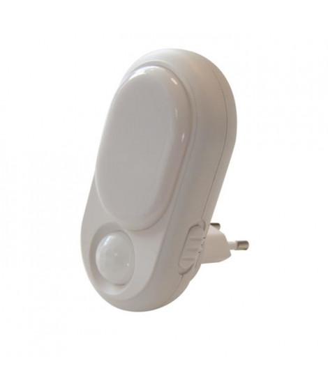 CHACON Veilleuse LED jeu de couleurs avec senseur de lumiere et détecteur de mouvement