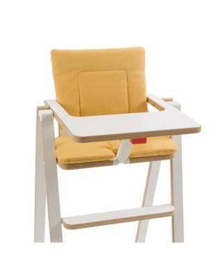 SUPAFLAT Coussin de chaise haute - lemon tart