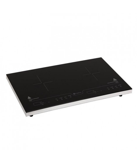 NAELIA CGF-06101-NAE Double Plaque a induction tactile - 3400W