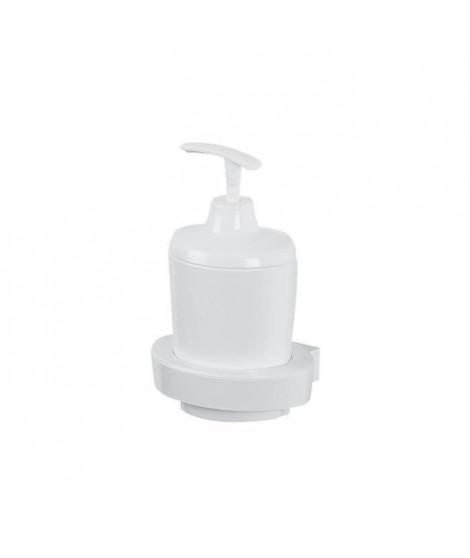 SPIRELLA Distributeur de savon Lemon - 11x8,5x16cm - Blanc