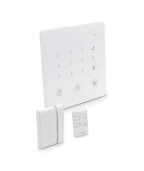 CHACON Pack alarme maison GSM/SMS sans fil tactile contrôlable a distance