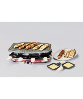 ARIETE 794 Appareil a raclette et pierrade - 8 personnes - 1200W