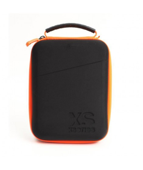 XSories - UNIVERSAL CAPXULE SMALL - Housse de rangement pour caméra ou appareil électronique, filet de rangement, poignée, Noire