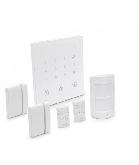 CHACON Alarme maison sans fil GSM / SMS tactile compatible animaux