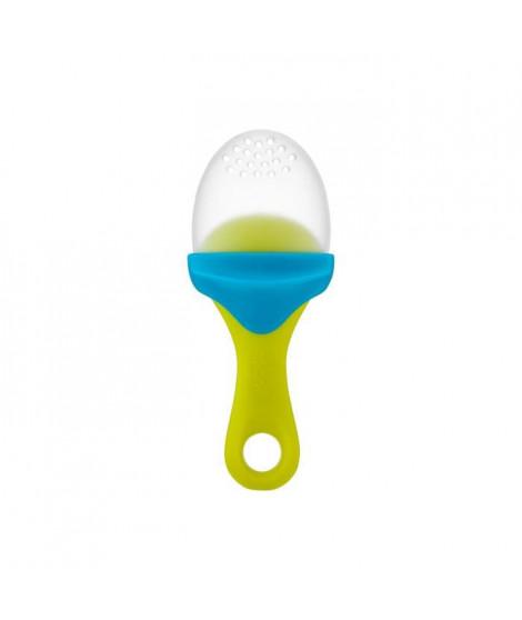 BOON Pulp Sucette avec compartiment - Vert / Bleu