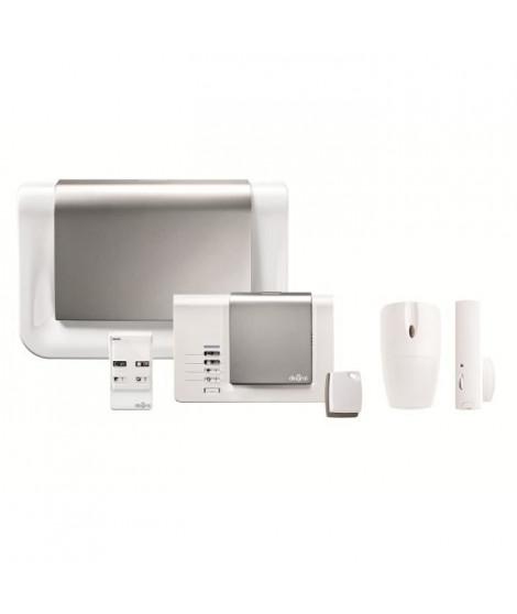 DIAGRAL Pack alarme maison sans fil compatible animaux ONE DIAG16BSF