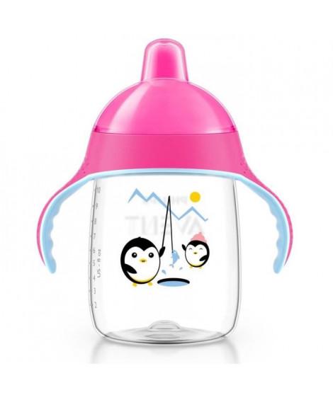 PHILIPS AVENT Tasse a bec souple anti fuite 0% BPA 12oz SCF755/07