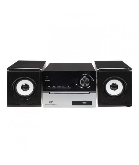 CONTINENTAL EDISON Chaine Hifi Bluetooth Lecteur CD Radio FM USB