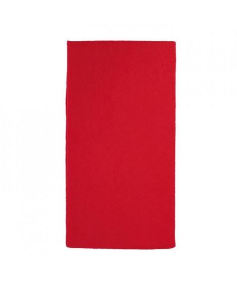 LOOPING  Matelas de voyage enveloppe housse éponge - Pour lit 120 x 60 cm - Rouge