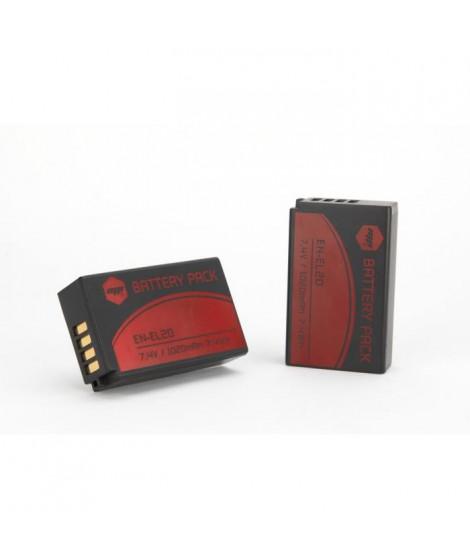 MP EXTRA  MP-PACK-BAT-ENEL20  Pack de 2 batteries ENEL20  pour NIKON