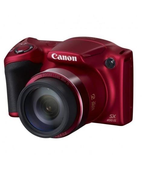 CANON SX400 IS Rouge - CCD 16MP Zoom 30x Appareil photo numérique Bridge