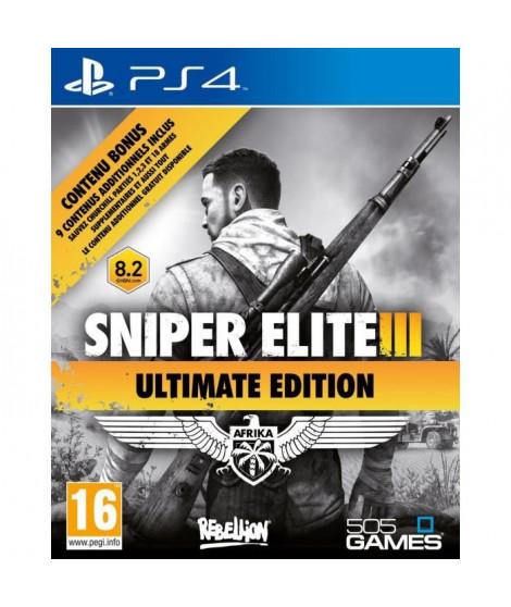 Sniper Elite III Ultimate Edition Jeu PS4
