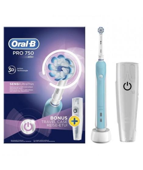 Oral-B PRO 750 Sensi Ultrathin Brosse a dents électrique par Braun